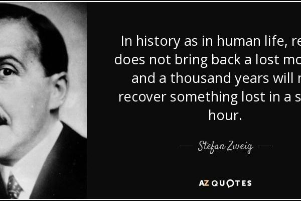 Momenti fatali di Stefan Zeig