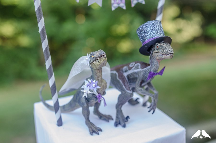 DIY Tutorial How To Make A Wedding Appropriate Dinosaur