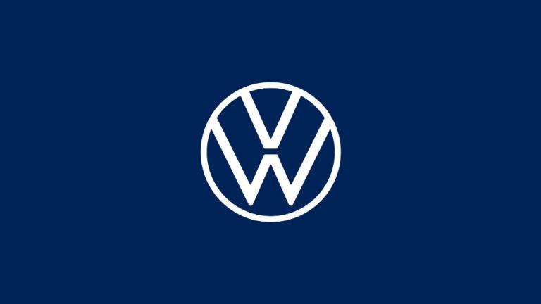 O novo design da marca Volkswagen