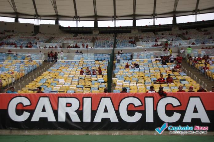 Cariacica recebe homenagem no retorno do Flamengo ao Maracanã