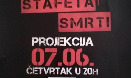 "Večeras pogledajte film ""Štafeta smrti"" u hotelu Mogorjelo"