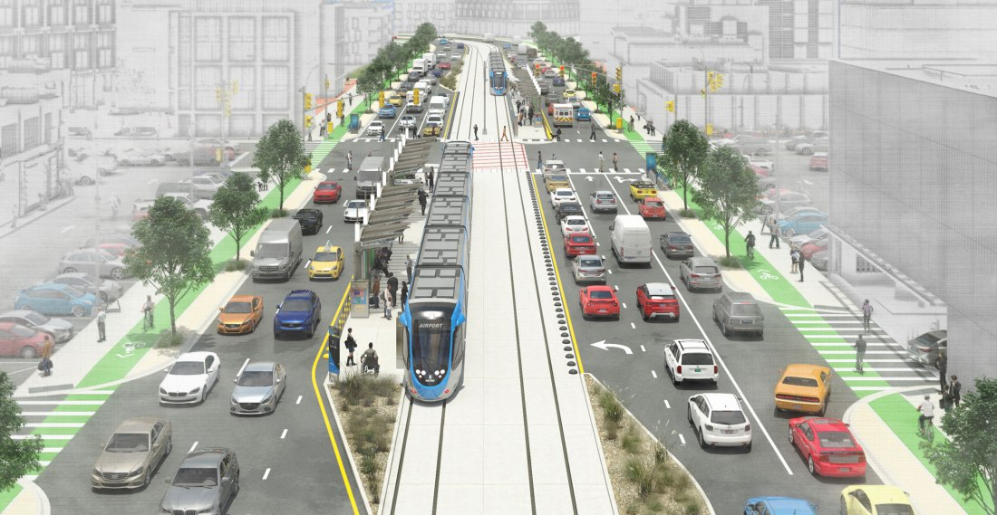 Transitways – Envisioning Possible Center Lanes