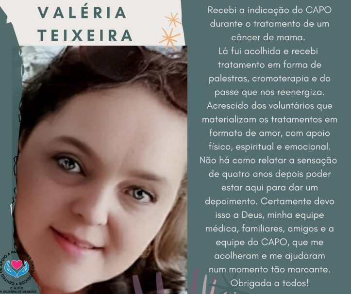 Depoimento - Valéria Teixeira