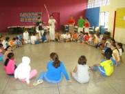 Roda de Capoeira das crianças do Amorim Lima.