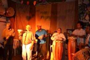 Mestre Durval, Pança e Eliane do coco.