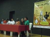 Mestre Paraíba fala da capoeira nas escolas, Semana de Capoeira Embu das Artes.