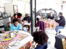 Almoço coletivo do grupo