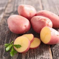 Patate Laura (buccia rossa, pasta gialla)2€/kg
