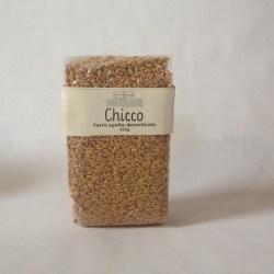 Chicco - farro decorticato 500g1,8€/sacchetto