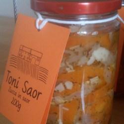 Toni Saor - la zucca in saor3,9€/vasetto
