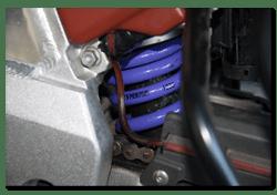 Aprilia Caponord ETV1000 Rally-Raid rear shock absorber spring Hyperpro