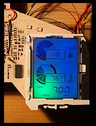 Diagnostic panel LED replacement