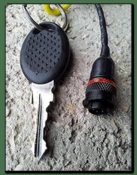 Aprilia Caponord ETV1000 Rally-Raid ASL 606-05PC-HE connector