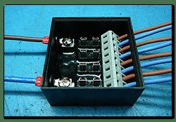 Power distribution box 50x50x25
