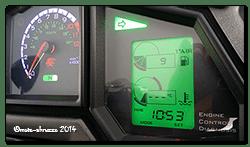 Aprilia Caponord ETV1000 Rally-Raid dashboard - new right-hand indicator repeater!