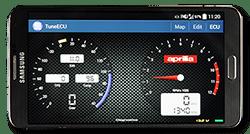 Aprilia Caponord ETV1000 Rally-Raid - TuneECU Android App