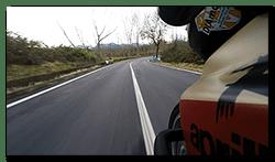 Aprilia Caponord ETV1000 Rally-Raid. Easy in ..... fast out!