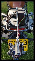 Aprilia Caponord ETV1000 Rally-Raid BMW Dynamic Brake Light System