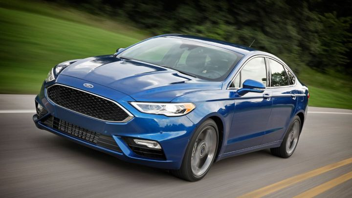 Ford Fusion Sport 2017