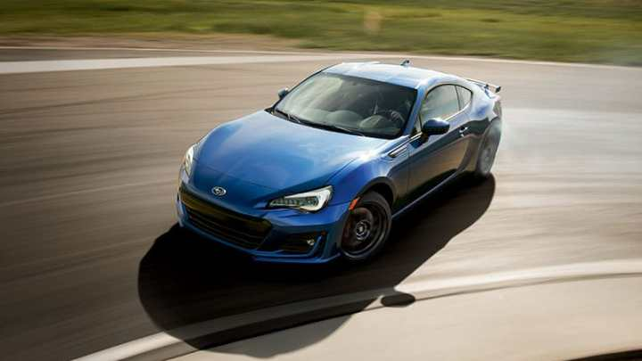 Subaru BRZ Performance Package 2017