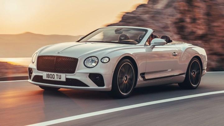 El Bentley Continental GT Convertible 2019 continúa con una gran tradición de turismo