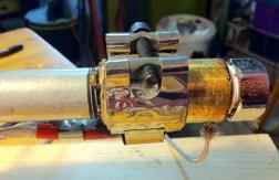 Assembled nozzle head