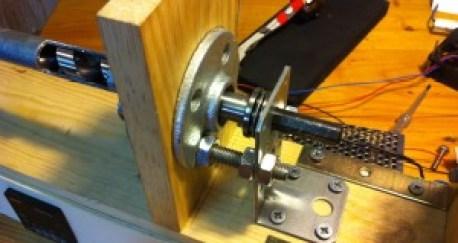 Axial load thrust ball bearing