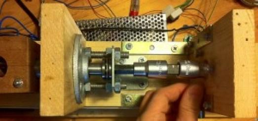 Auger-Motor coupling