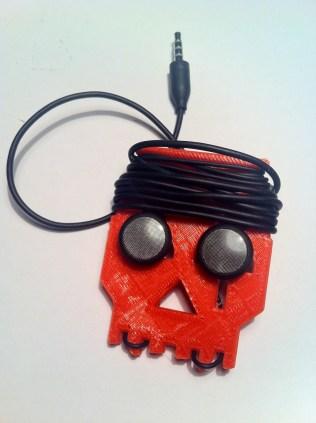 Earbud Skull