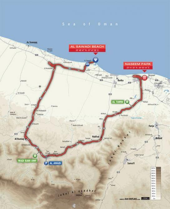 2016_tour_of_oman_stage_3_map_670