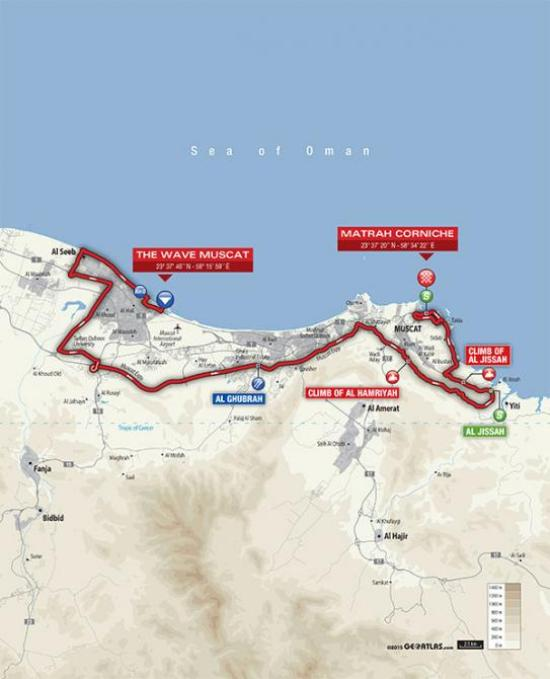 2016_tour_of_oman_stage_6_map_670