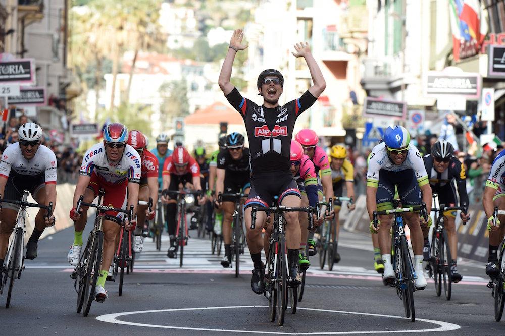 John Degenkolb wins the 2015 Milan-San Remo