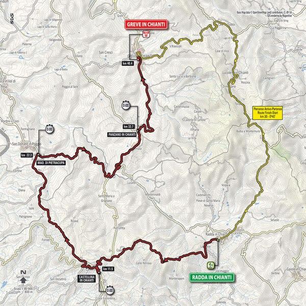 Giro-dItalia-2016-Stage-9-Radda-in-Chianti-to-Grave-in-Chianti-route-map