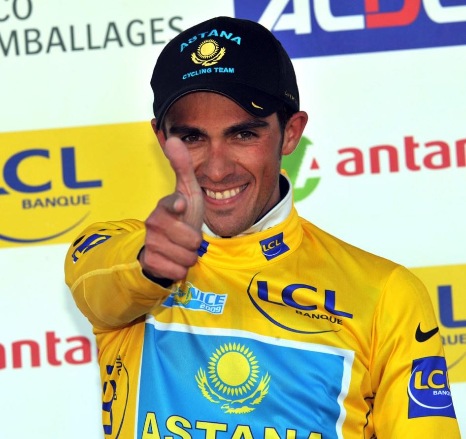 ALBERTO CONTADOR WINS STAGE SIX OF THE 2009 PARIS-NICE