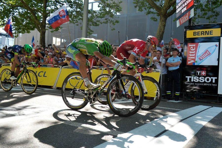 Tour de France 2016 - 18/07/2016 - Etape 16 - Moirans-en-Montagne/ Berne (209 km) - Peter SAGAN (TINKOFF) remporte l'étape
