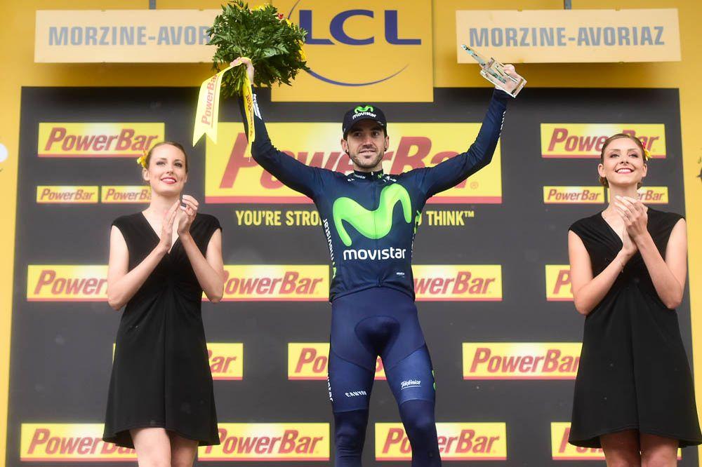 Tour de France 2016 - 23/07/2016 - Etape 20 - Megève / Morzine (146,5 km) - Jon IZAGUIRRE INSAUSTI (MOVISTAR TEAM) vainqueur de l'étape du jour