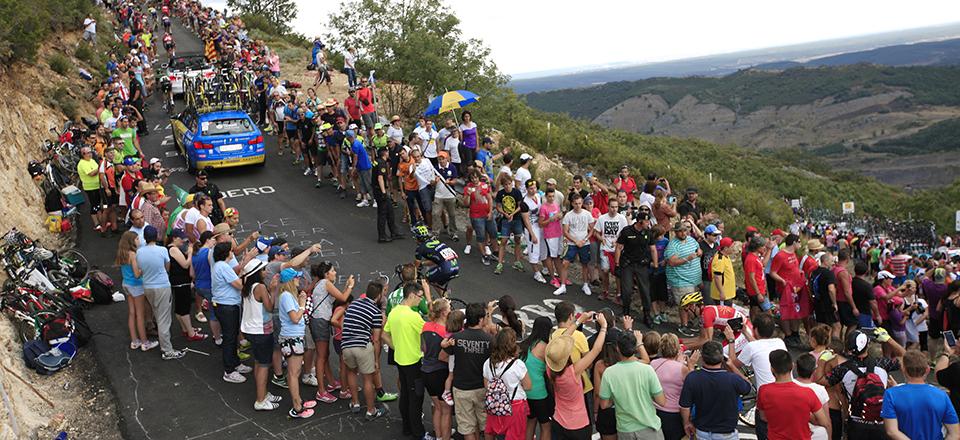 CICLISMO: 69 edicion de La Vuelta a España. 23-08-2014 al 14-09-2014. Etapa 14; Santander - La Camperona. Valle de Sabero. 06-09-2014. FOTO/PHOTO: UNIPUBLIC/J. A. MIGUELEZ.