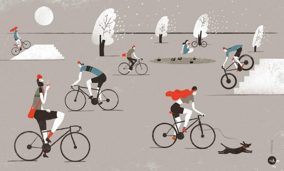 niki-fisher-illustrations_urbancycling_1