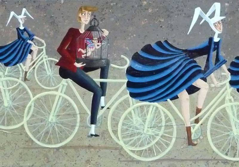 carole-beatrice-perret-paintings_urbancycling_4