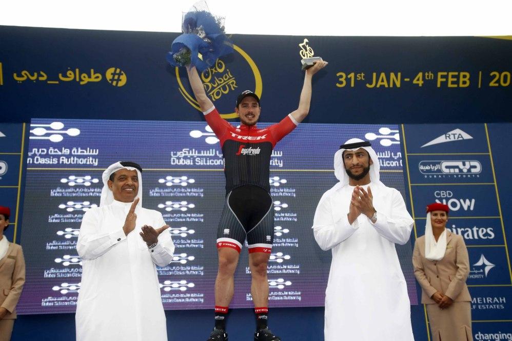 Dubai Tour 2017 - 3rd stage - Dubai Silicon Oasis stage - Dubai - Al Aqah 190 km - 02/02/2017 - John Degenkolb (GER - Trek - Segafredo)- photo Roberto Bettini/BettiniPhoto©2017