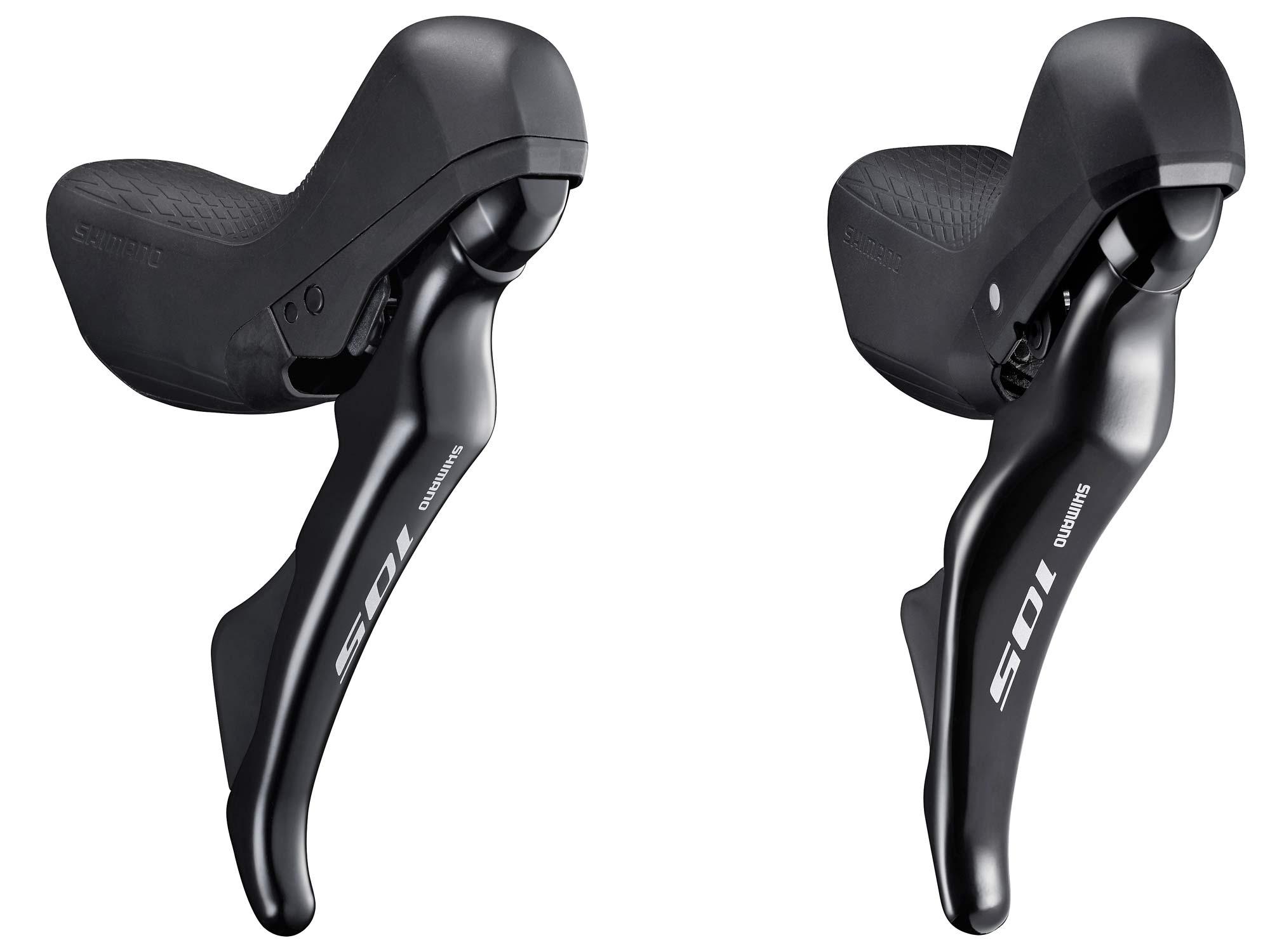 Left Dual Control Lever 105 ST-R7000 2s Black Mechanical Brake SHIMANO bike leve