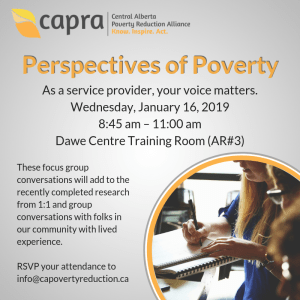 Perspectives of Poverty @ G.H Dawe Training Room (AR#3)