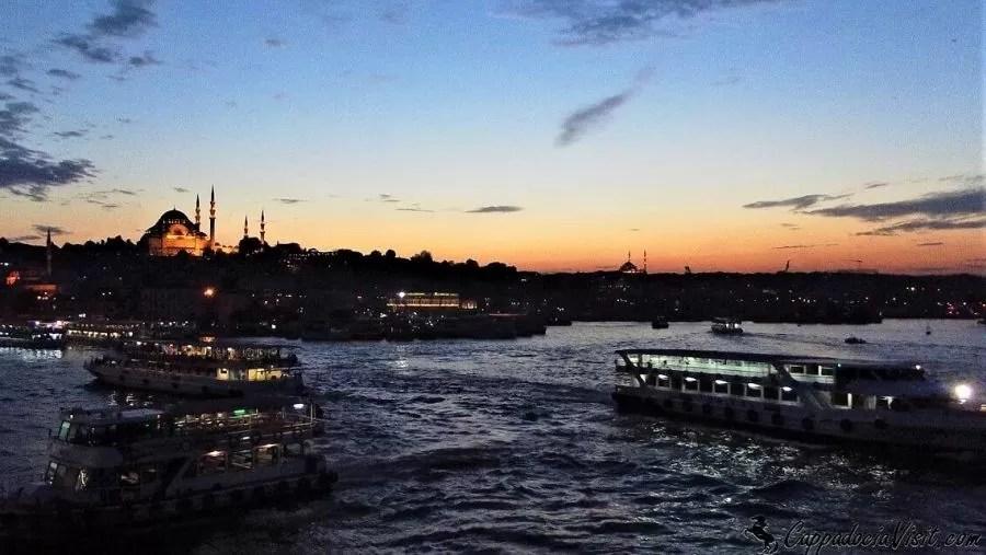 Закат над Золотым Рогом - Стамбул