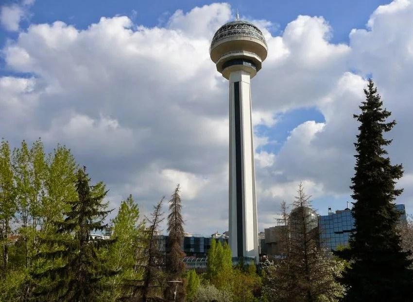 Башня Атакуле в Анкаре