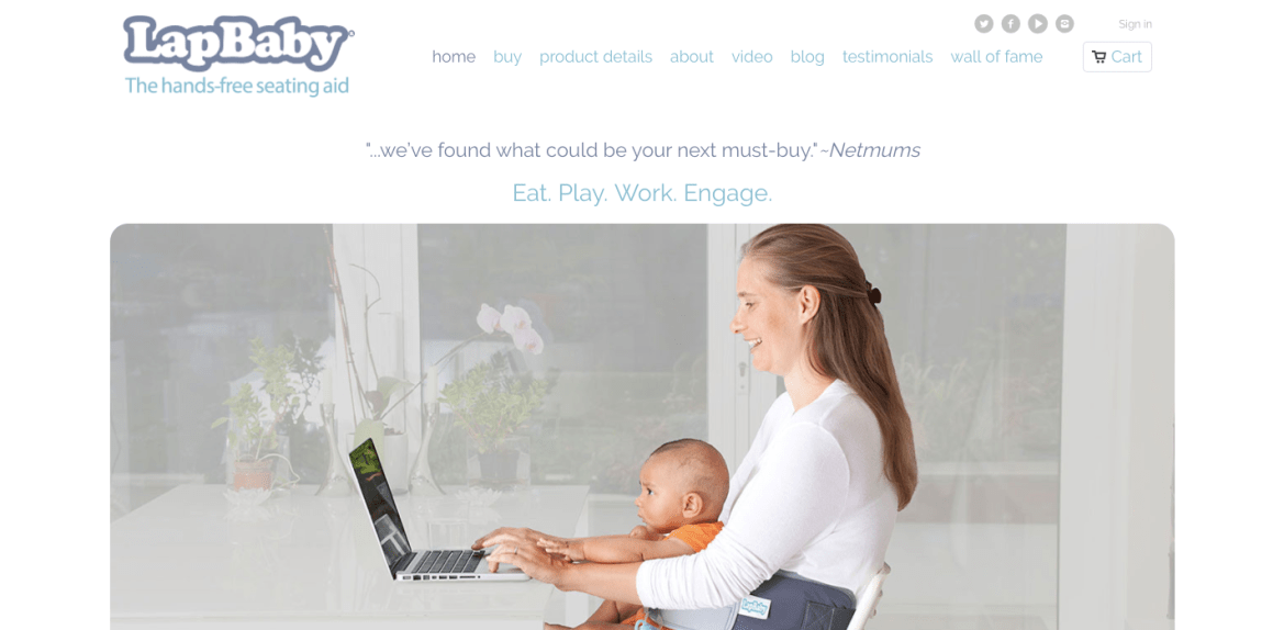 Cappataggle Creative Shopify website design and development