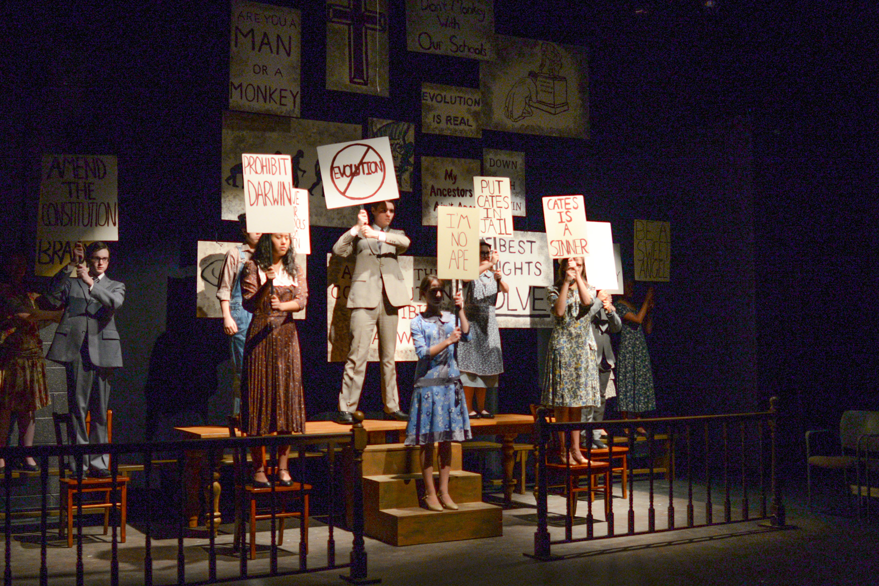 Inherit The Wind Episcopal Academy Cappies Production