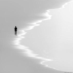 Soledad frente el mar