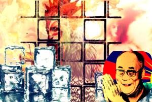 Dalai Lama y el Hielo