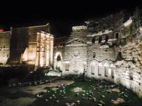 When you get lost in Rome at 1 am, do not fear. You will stumble upon old ruins and it will be magnificent.