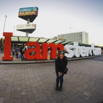 The quintessential I amsterdam letters picture! Couldn't leave without one.